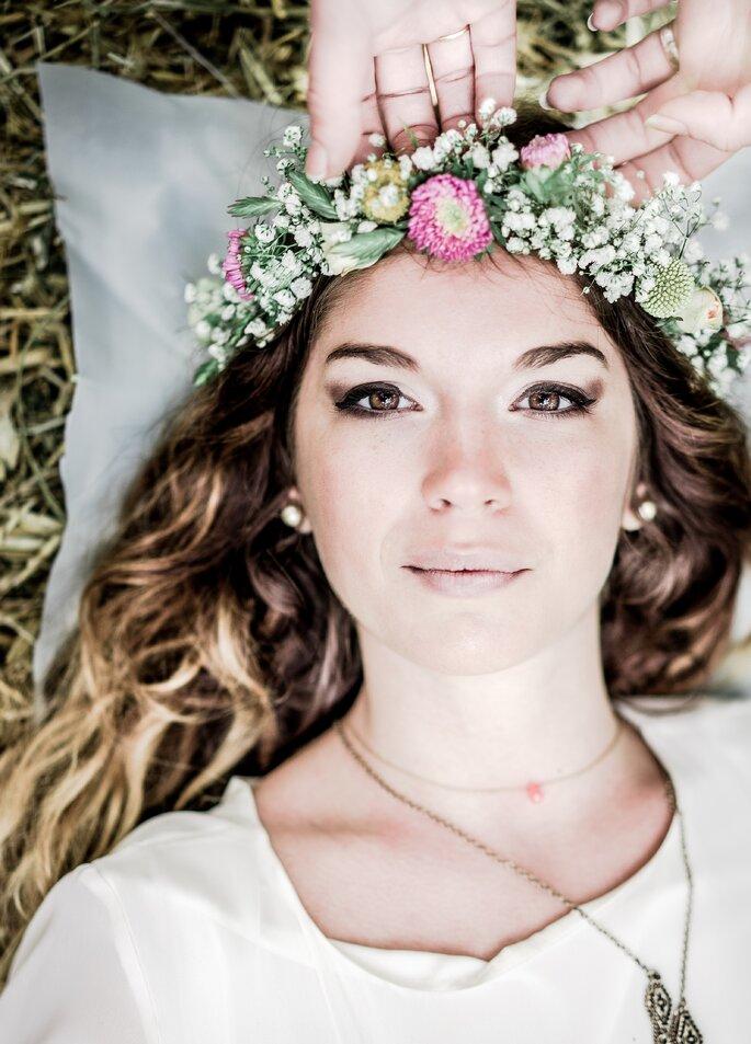 Couronne à fleur, Saveurs et Émotions -Etienne REGIS Photographe
