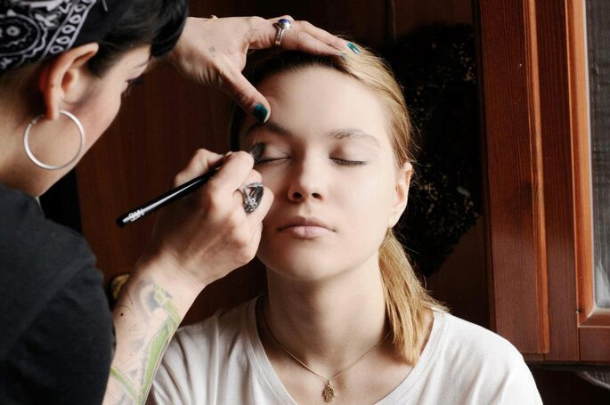 Francesca Mamone make-up artist