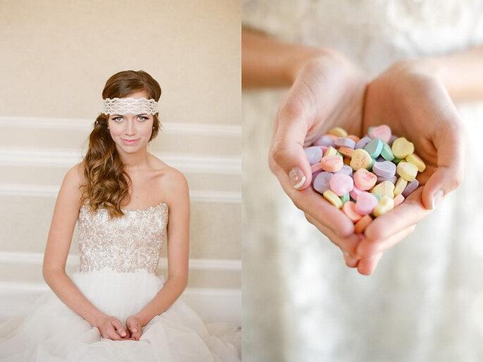Una novia muy dulce. Foto: Alea Lovely Destination Fine Art Wedding Photographer
