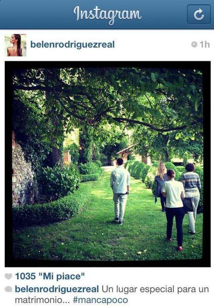 Belen Rodriguez su Instagram