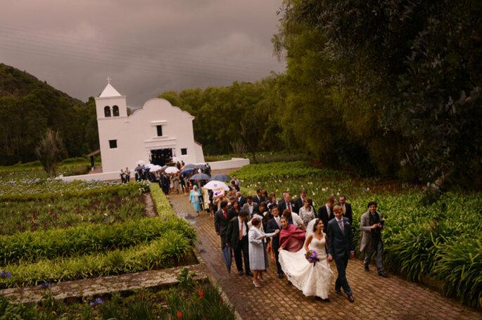 Matrimonio religioso en la Hacienda Fagua. Foto: Juya Photographer
