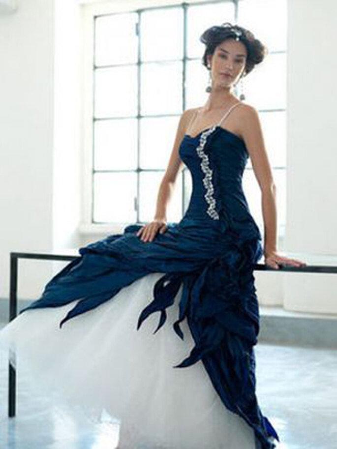 """... Braut, die sich traut"""" ist eine Braut in Blau – blaue Brautkleider"""