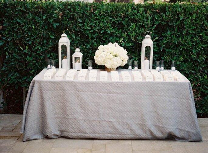 Los colores perfectos para decorar una boda en 2015 - Foto Steve Steinhardt