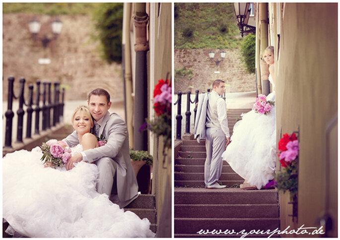 Das Brautpaar - glücklich vereint!