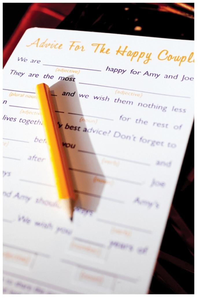 Conseils drôle de vos invités - Photo: Belltower Photography