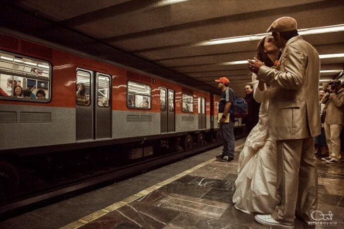 Contrata a un fotógrafo profesional y obtén las mejores imágenes de toda tu boda - Foto Arturo Ayala