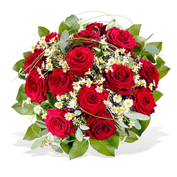 fleurop strauss rosen