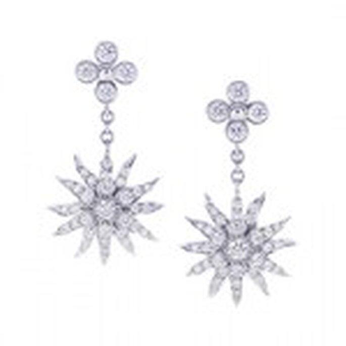 Tiffany Lace Sunburst earrings worn by Julia Roberts in Ocean's Eleven