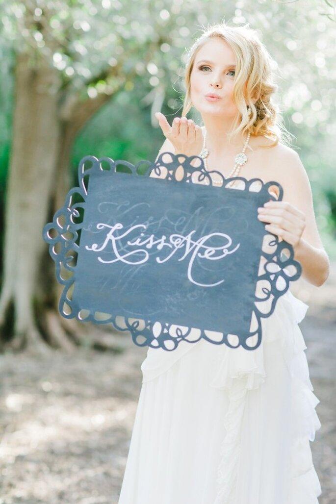 Romantische Hochzeitsdeko - Foto Avec L'Amour Photography