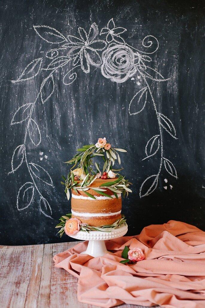 Los mejores pasteles de boda con estilo rústico - Foto Annabella Charles