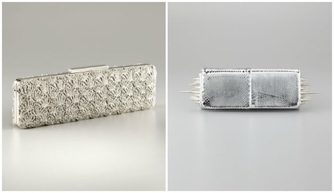 Due oggetti del desiderio firmati Badgley Mischka e Christian Louboutin. Foto: www.neimanmarcus.com