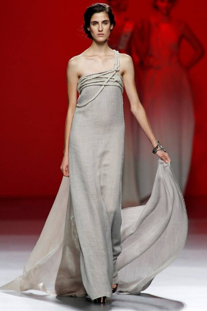 Vestidos de novia 2015 desde la semana de la moda de Madrid - Foto Ulises Mérida