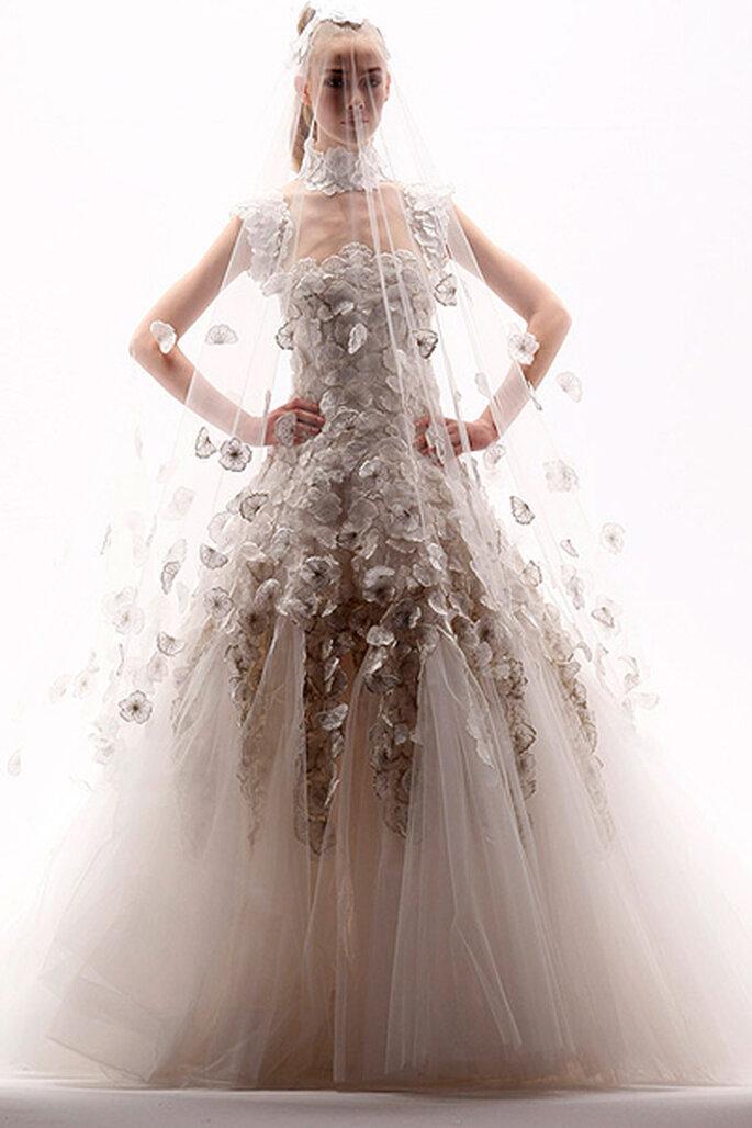 Vestidos de novia alta costura más originales - Georges Chakra