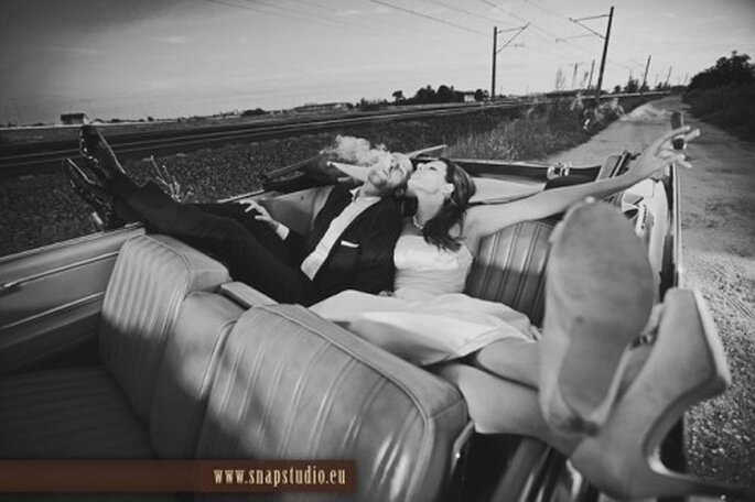 Disfruta tu boda. Imagen SnapStudio