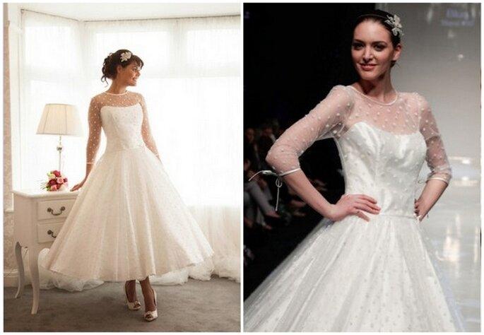 Vestido de novia Sylvie de Blue Bridalwear. Fotos: www.bluebridalwear.co.uk