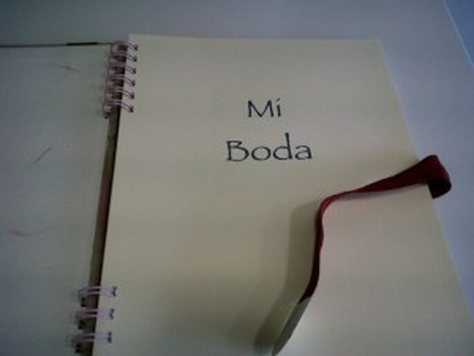 Cuaderno de bodas
