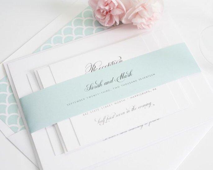 Photo: Shine Wedding Invitations