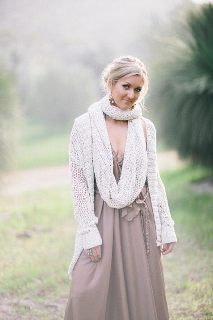Elige una linda bufanda para completar tu look - Foto Natasja Kramers