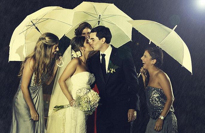 Imprévus climatiques le jour du mariage : pensez-y ! - Photo : Rocha Fotografia