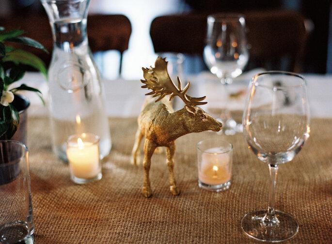 Cómo decorar una boda rústica en 2015 - Charlotte Jenks Lewis Photography