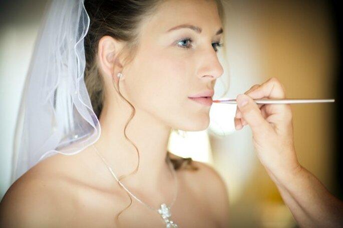 Perfektes Hochzeits-Make-up