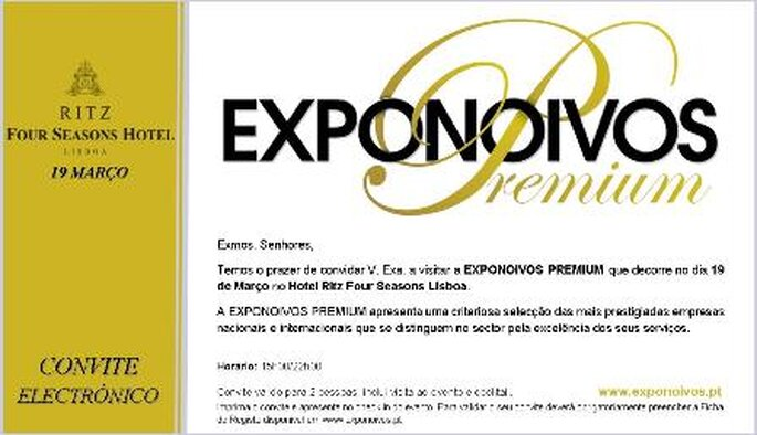 CONVITE EXPONOIVOS PREMIUM