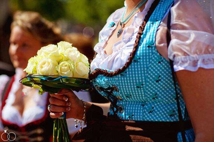 Traditionell bayrisch: Heiraten in Tracht. // Foto: Katja Schünemann