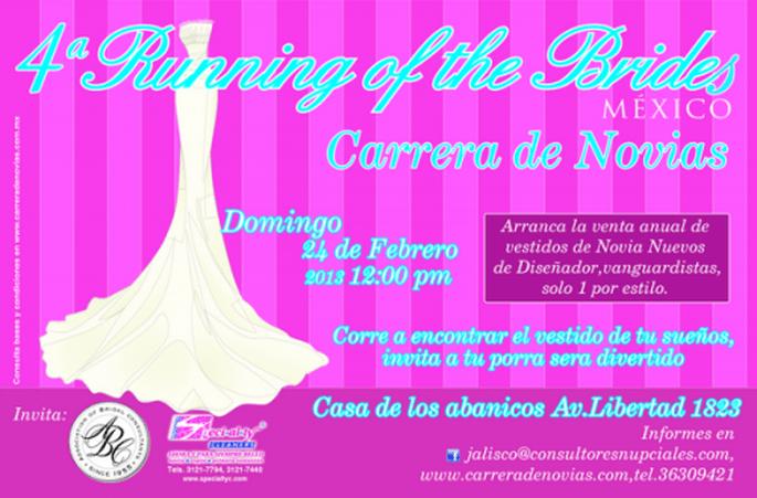 4ª carrera de novias en Guadalajara, Jalisco