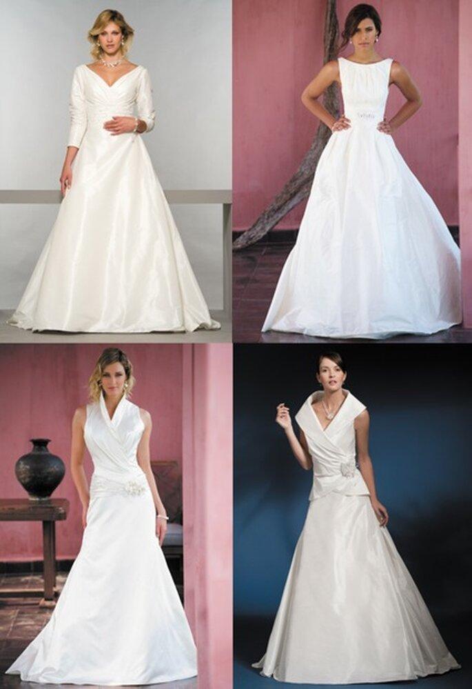 Modelle im A-Linien-Schnitt: Anna, Figaro, Than, Garbo