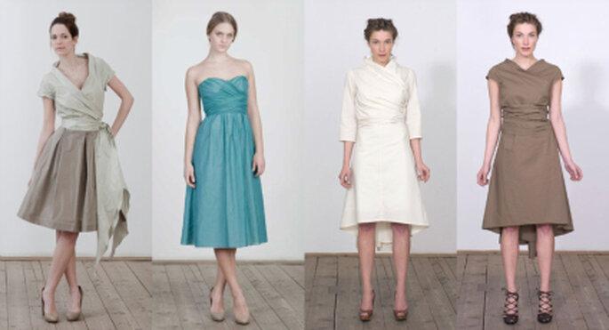 Für jeden Geschmack etwas dabei: Brautkleider von Elfenkleid Kollektion 2011
