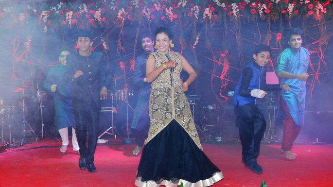 Choreography by: Naach - Sangeet choreography.