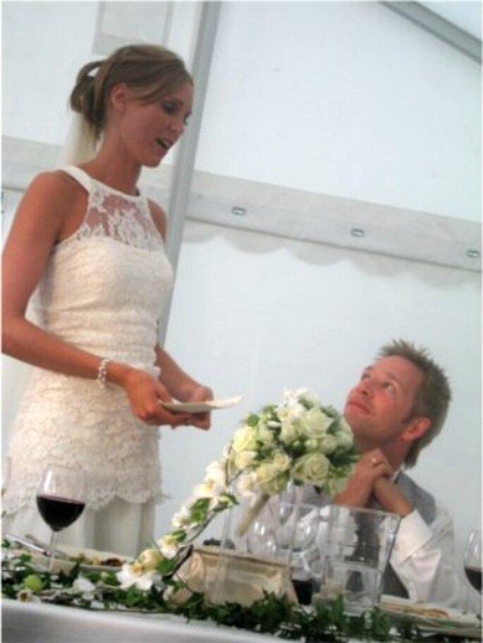 Palabras de la novia en la boda