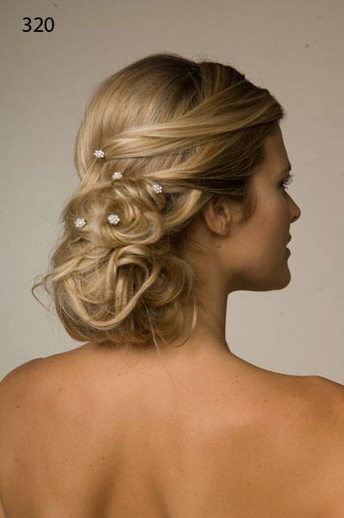 zauberhafte Frisur zur Hochzeit - Foto-Matias-Rivara