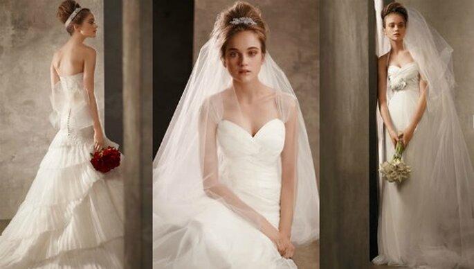 3 white by Vera Wang for David's Bridal