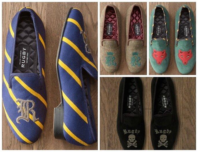 Slippers de fantasía, de Ralph Lauren Rugby. Foto: Ralph Lauren