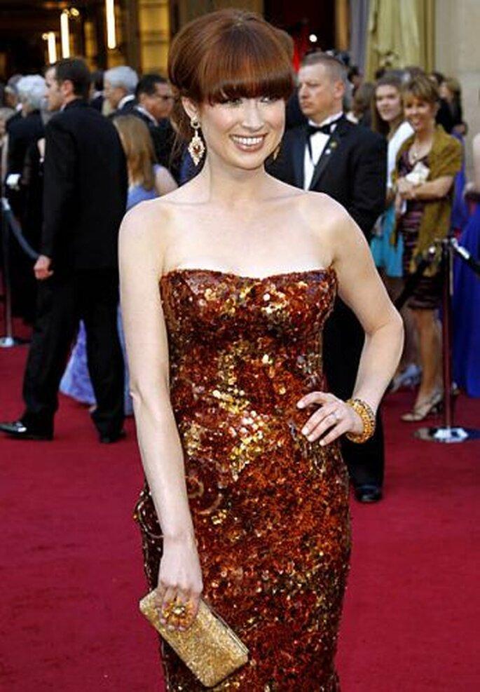 Ellie Kempler in Lorraine Schwartz earrings.