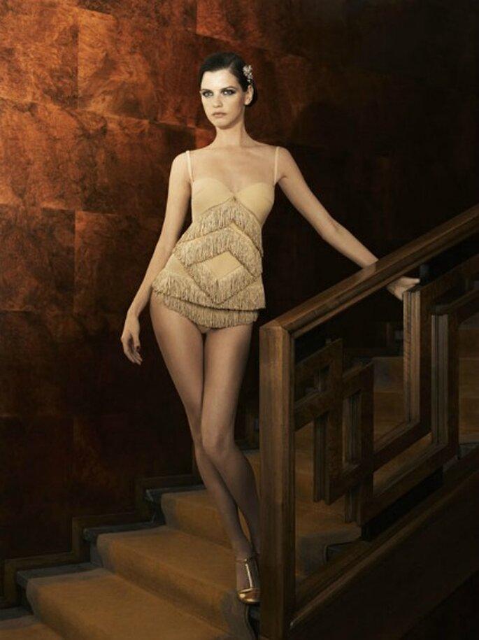 La top model Jeisa Chiminazzo es la nueva imagen de esta colección de lencería de La Perla