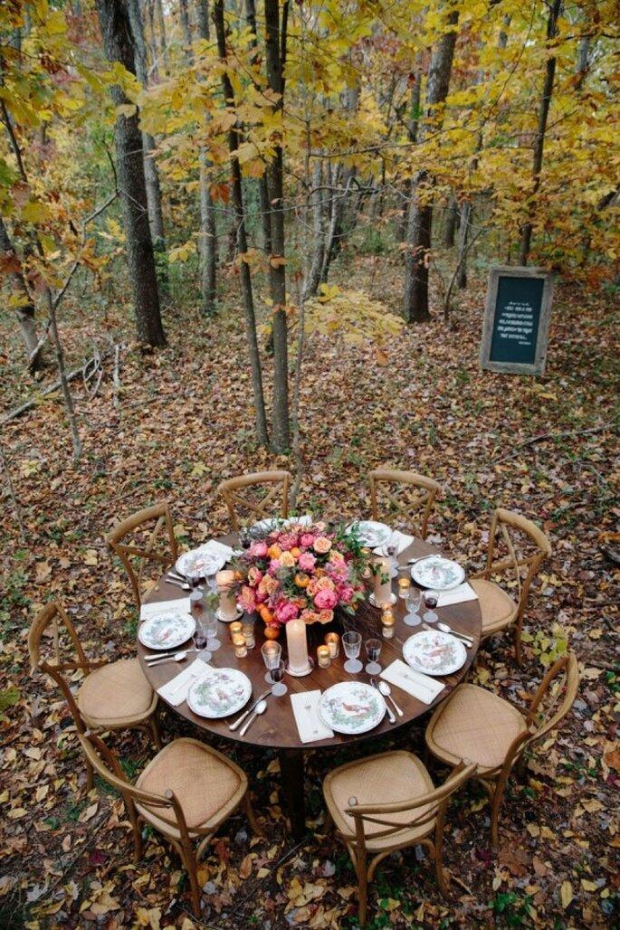 Tu boda con acabados de madera y coaba - Foto Meg Runion
