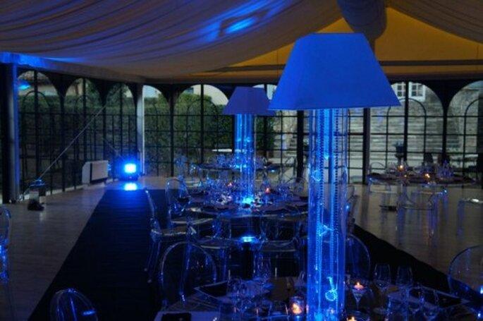 Décoration des tables et buffets de mariage : misez la transparence ! - Photo : One Day Event