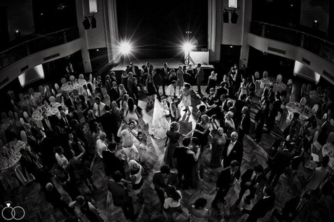 Hochzeitstanz im Curiohaus - Foto: Katja Schünemann.