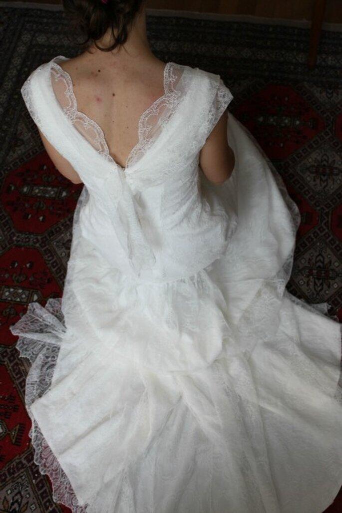 Robe de mariée élégante, toute en séduction et en douceur - Photo : Pascal de Lavernette
