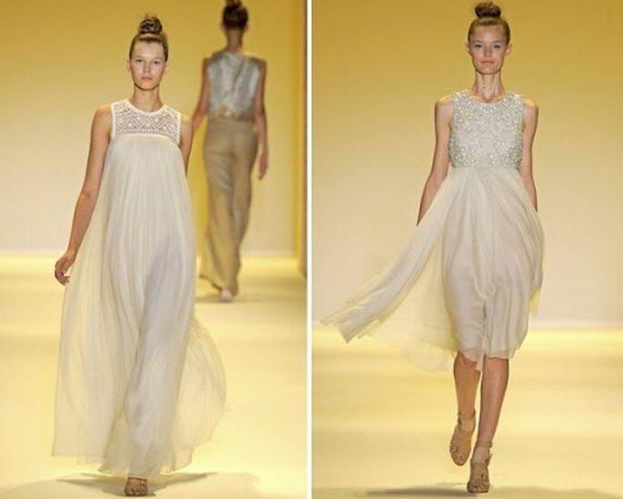 Consejos para elegir tu vestido de boda en verano - Foto B. Adam