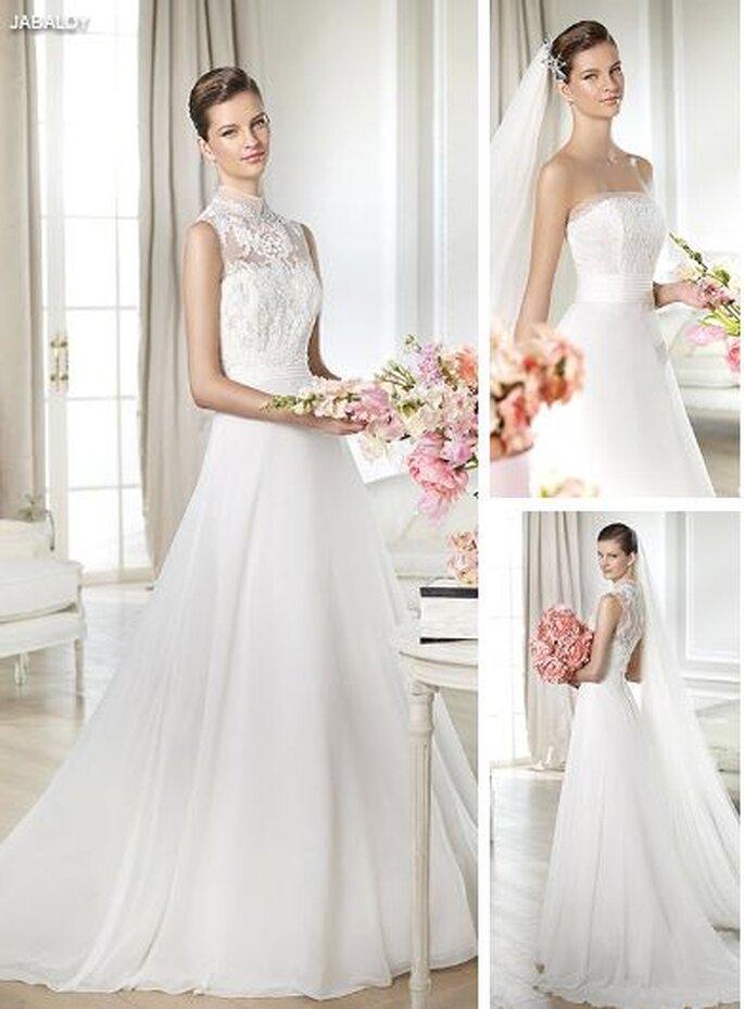 Koronkowa suknia ślubna 2014