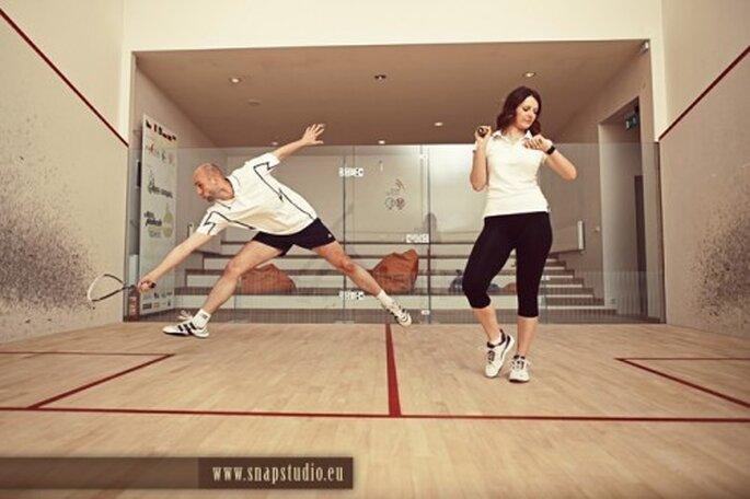 Practicar un deporte juntos ayuda a la unión de la pareja