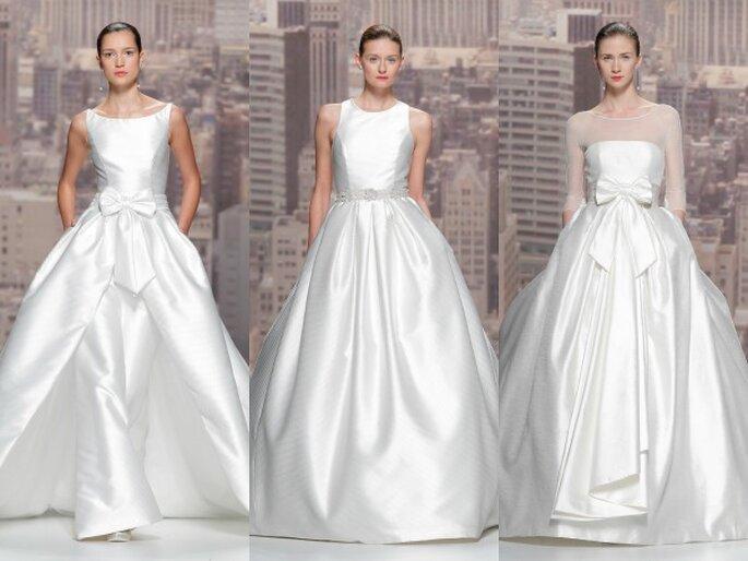 Rosa Clará, colección 2015. Foto: Barcelona Bridal Week