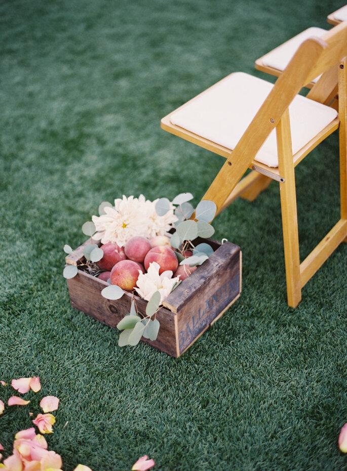decoración en tono durazno -Jen Huang Photography Colors-