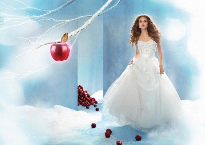 Vestido de novia inspirado en Blanca Nieves - Foto Alfred Angelo