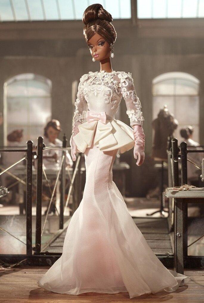 Laissez vous inspirer par barbie pour votre robe de mari e for Combien sont les robes de mariage de caroline herrera