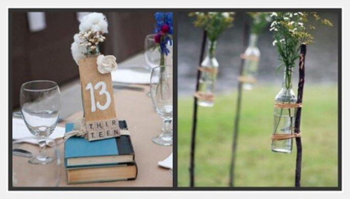 Detalles para una boda rústica