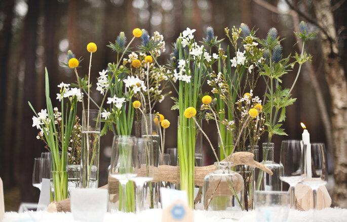 Photo : Annaimages / Décoration florale : Aude Rose